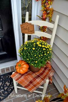 Decorations For A Front Porch by Adventures In Decorating Our Fall Front Porch