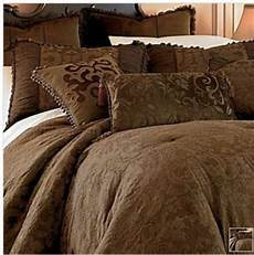 chris madden brown damask jacquard queen comforter new dealsplusdiscounts