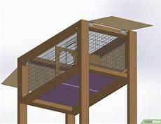 costruire gabbie per conigli come costruire una conigliera 17 passaggi illustrato