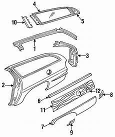 automotive service manuals 1995 buick roadmaster windshield wipe control oem quarter panel components for 1994 buick roadmaster gmpartscenter net