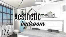 Aesthetic Bedroom Ideas Bloxburg by Roblox Bloxburg White Aesthetic Bedroom 17k