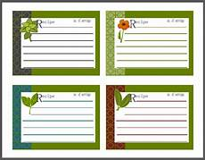 recipe card templates for mac pages labels for you herb jars containers and more free