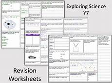 science revision worksheets for year 7 12381 exploring science year 7 revision worksheets teaching resources