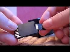 comment mettre une carte micro sd sur votre ordinateur fr