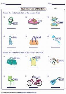 free printable rounding money worksheets 8108 rounding and estimating money worksheets