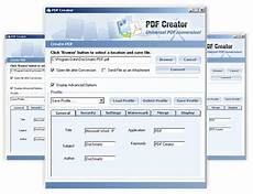 pdf creator to create pdf file in few clicks