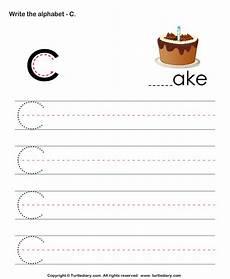 letter c handwriting worksheets 24055 uppercase alphabet writing practice c worksheet turtle diary