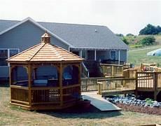 treated pine single roof octagon gazebos gazebos by style gazebocreations com