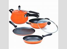 Buy 5 Pcs Induction Based Non Stick Cookware Set Online at