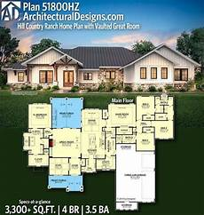 plan 73150 in 2020 ranch house plans country plan 51800hz hill country ranch home plan with vaulted