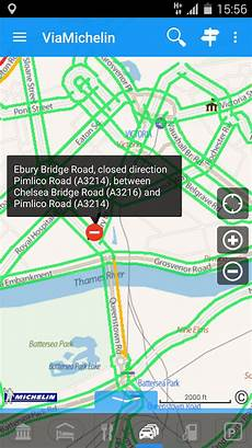 Michelin Route Planner - viamichelin route planner maps screenshot