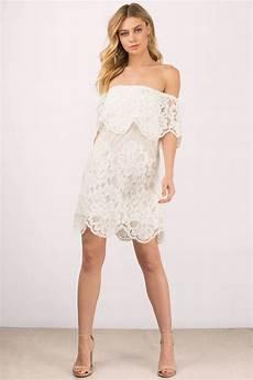 pretty white day dress shoulder dress shift dress
