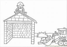 build the house coloring page coloring page free houses