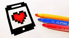 handmade pixel how to draw an iphone pixelart
