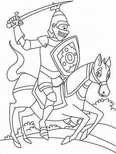 knights coloring pages and print knights
