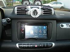 din 2 radio faceplate smart fortwo 451 facelift