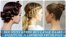 hochsteckfrisuren lange haare anleitung haartrend