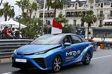 Toyota Mirai Fuel Cell Car Makes Motorsport Debut