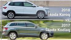 2018 Skoda Karoq Vs 2017 Skoda Kodiaq What Is The