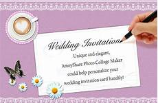 Free Wedding Invitation Card Maker how to create wedding invitation card with amoyshare pcm