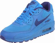 nike air max 90 youth gs schoenen blauw