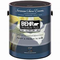 behr premium plus ultra 1 gal pure white satin interior paint 775001 the home depot