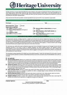 fillable eeo affirmative action data form printable pdf download