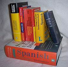 dictionary to bilingual dictionary