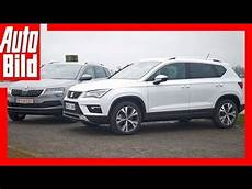 Seat Ateca Vs Skoda Karoq 2017 Test Review Details