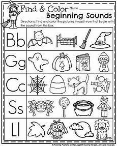 worksheets for preschool and kindergarten october preschool worksheets teachers pin teachers