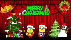 minions song we wish you a merry christmas by minions animations youtube