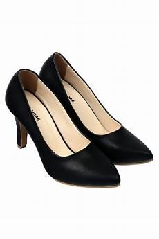 jual sepatu murah dan berkualitas claymore sepatu high heels bb 701 black