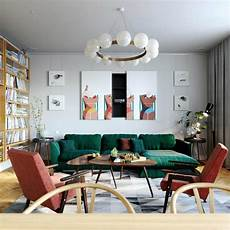 a mid century inspired apartment with modern geometric 7 tips to create a mid century modern living room
