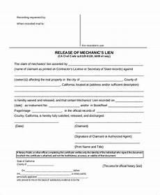 54 contingent lien holder release free real estate lien release forms pdf eforms free jaydson org