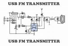 Fm Transmitter Circuit Diagram Schematic by Usb Fm Transmitter Circuit