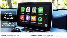 apple carplay mercedes mercedes 2016 to current models factory audio apple