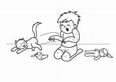 Malvorlagen Katzen Quiz Kostenlose Malvorlage Katzen Fauchende Katze Ausmalen Zum