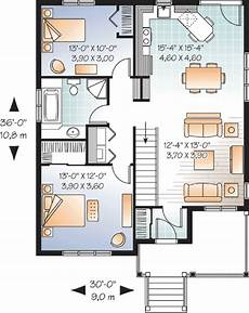 two bedroomed house plans attractive two bedroom house plan 21783dr