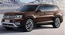 new volkswagen teramont is china s atlas suv