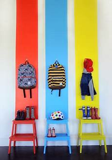 bunte kindergarderobe interior for room garderobe