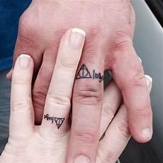 40 sweet meaningful wedding ring tattoos wedding band