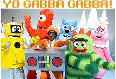 black on yo gabba gabba yo gabba gabba from