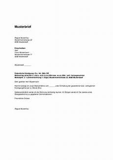 kündigung mietvertrag bei tod vorlage wohnungsk 252 ndigung durch vermieter k 252 ndigung