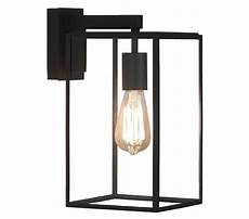 astro box lantern 350 exterior wall light textured black finish with clear glass 1354004 from