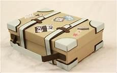 verpackungen für geldgeschenke mini reisekoffer als verpackung f 252 r urlaubs geldgeschenk