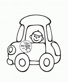 car coloring pages for preschoolers 16492 small car coloring page for preschoolers transportation coloring pages printables free