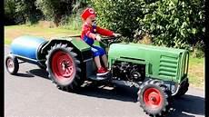 Bruder Trecker Malvorlagen Trecker Zeichentrick Kinderfilm Traktor