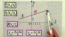 mittelpunkt eines vektors berechnen