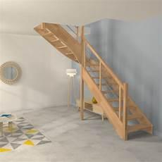 Escalier Quart Tournant Sur Mesure Escalier Quart Tournant Sur Mesure En Bois Et Inox O 233 Ba