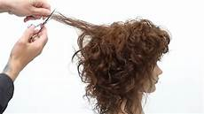curly shag haircut tutorial youtube